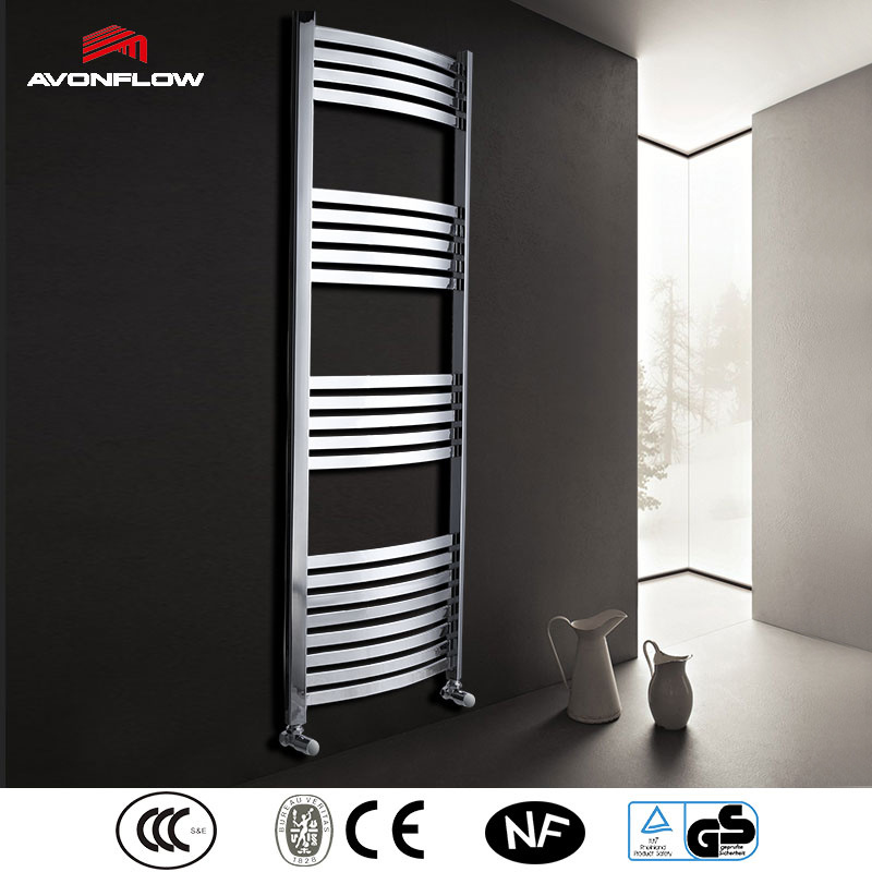 Avonflow Chrome Electric Bathroom Heater Towel Radiator