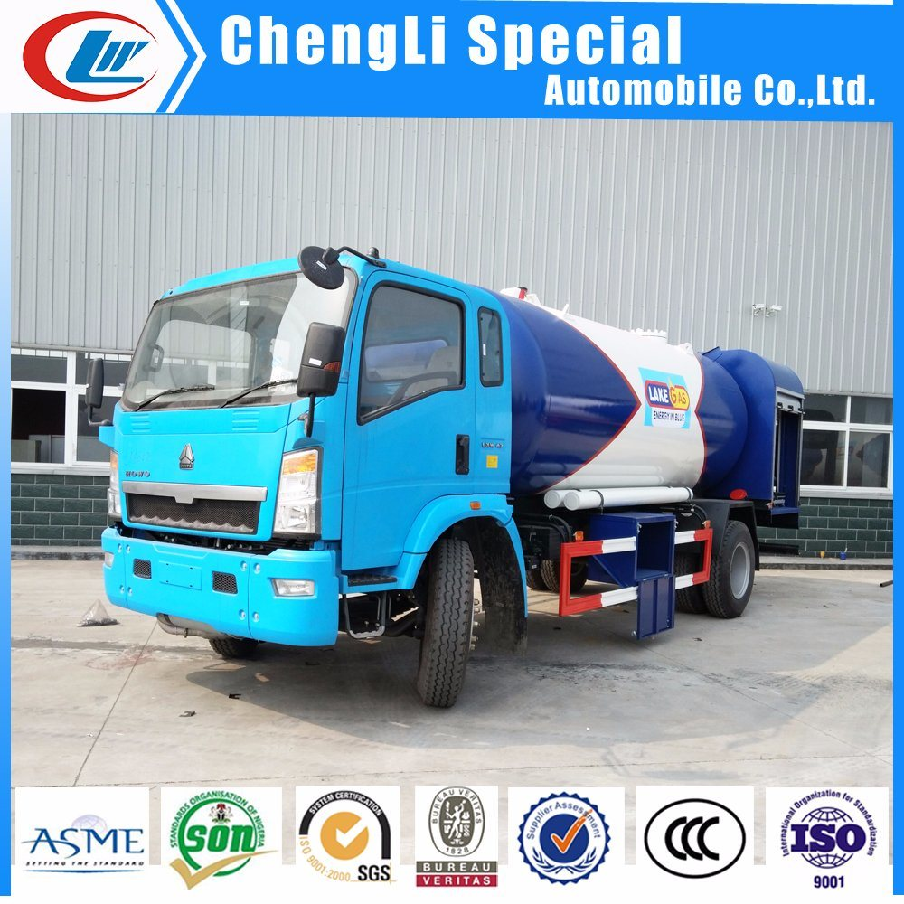 20000 Liters LPG Gas Filling Tank Skid Station 10tons with Filling Scale or Dispenser