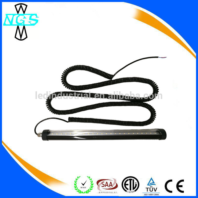 High Quality Waterproof LED Tube Light with Retractable Spring Wire of 3 Years Warranty LED Tube Light for Machines