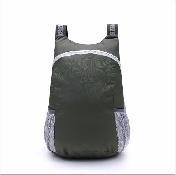 Portable Sports Bag Folding Backpack Outdoor Climbing Hiking Cycling Bag