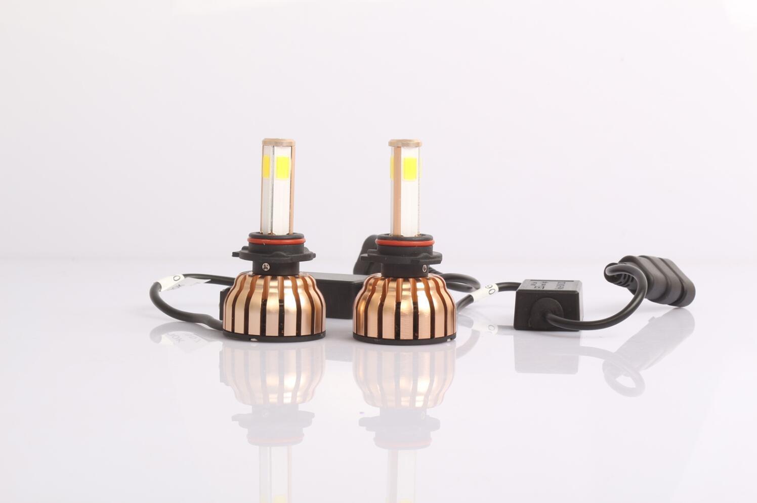 Hot Selling IP68 6000k 36W High Low Beam High Power Car H4 LED Headlight