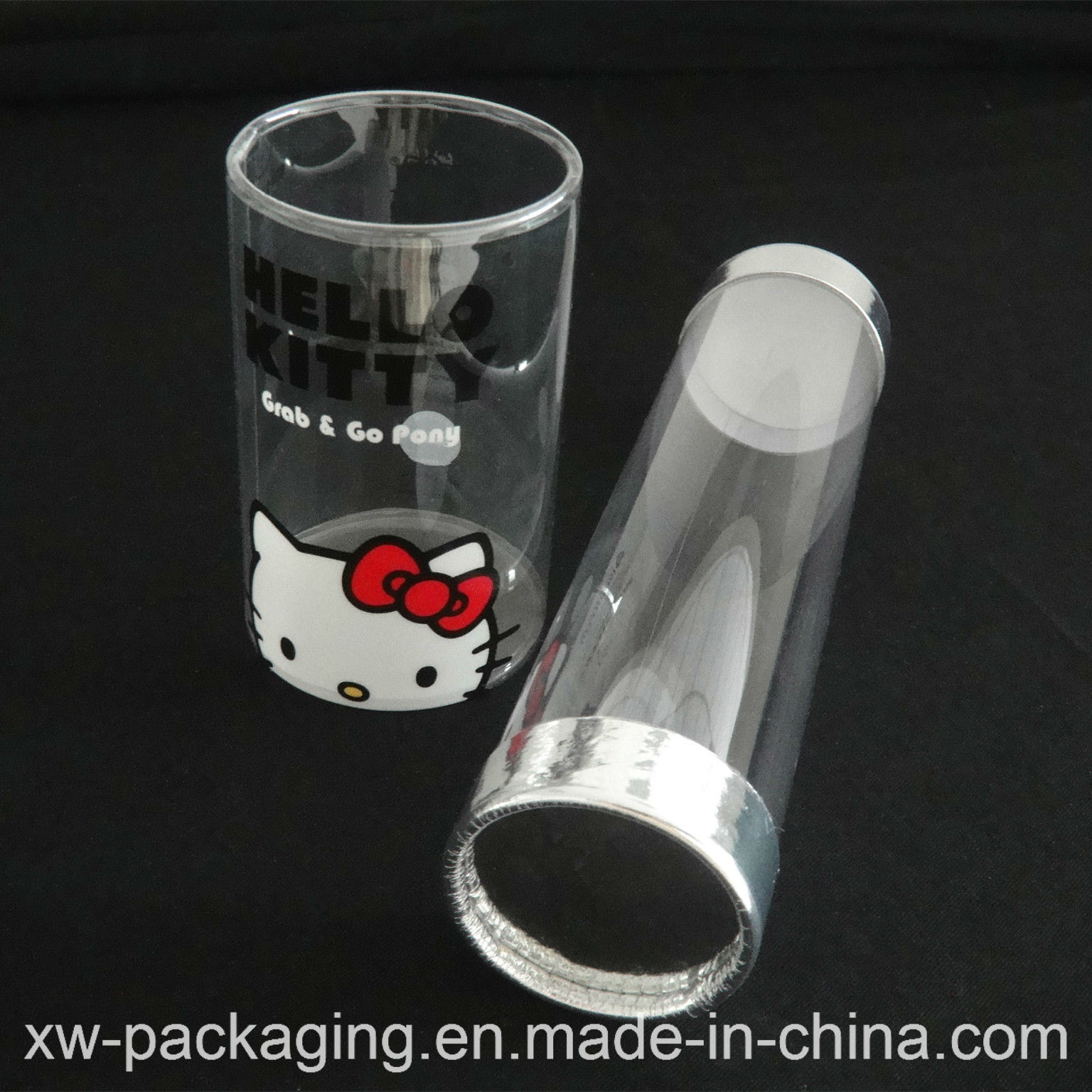 Good Quality Plastic cylinder Box for Gift Package