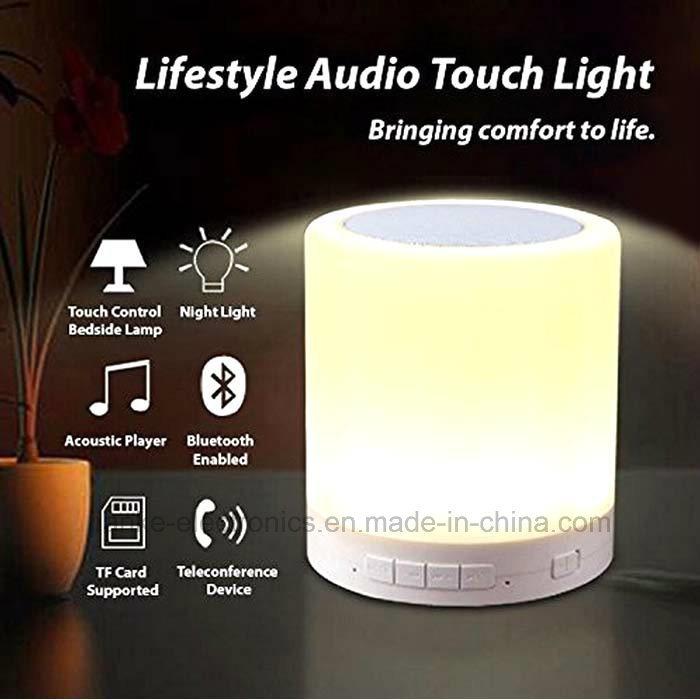 2017 Popular Portable Wireless LED Bluetooth Speaker (572A)