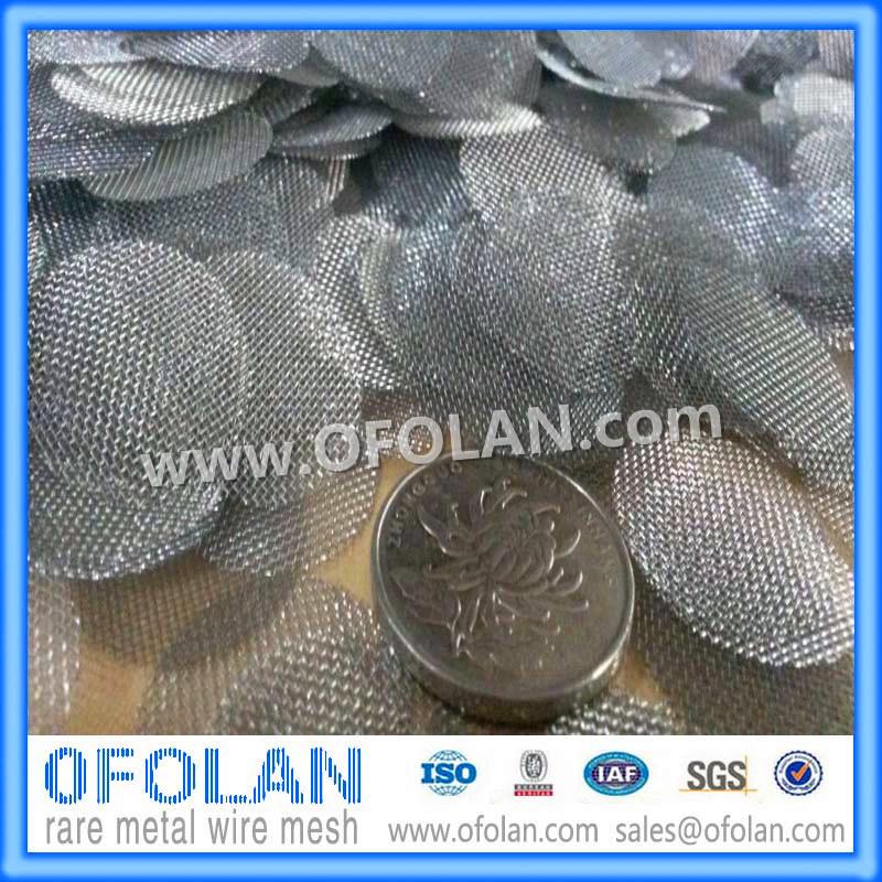 40 Mesh Molybdenum Wire Mesh/Cloth 100mmx1000mm Stock Supply
