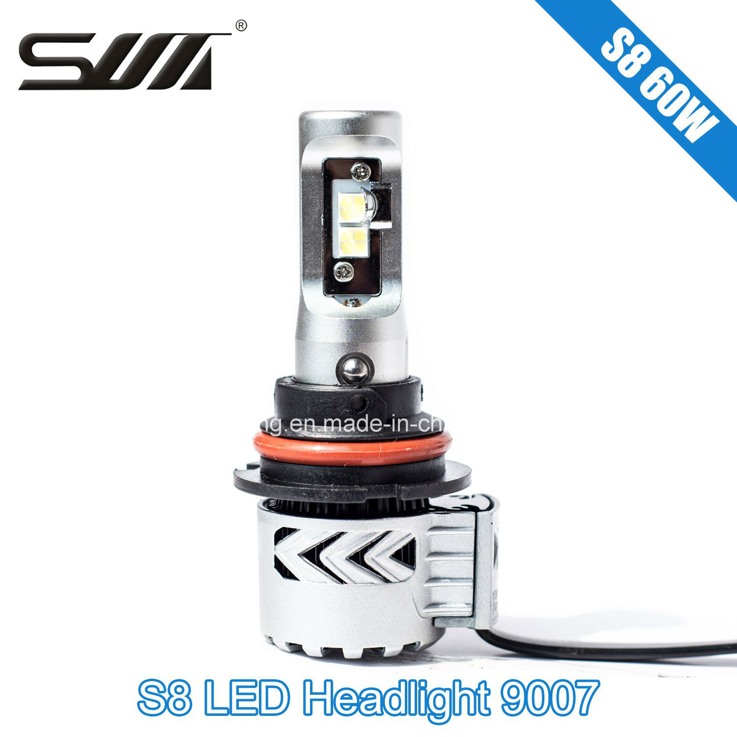 Hot Sell 60W S8 Car Light 9007/Hb5 LED Headlight Auto Headlight Kits