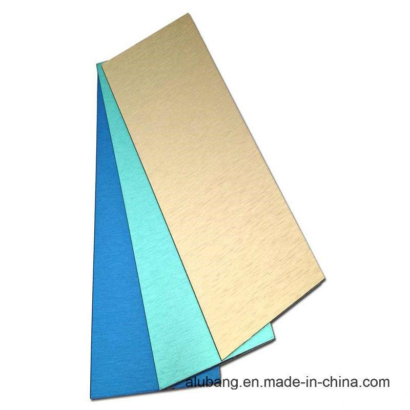 PVDF (fluorine-carbon) Aluminium Composite Panels (ALB-012)