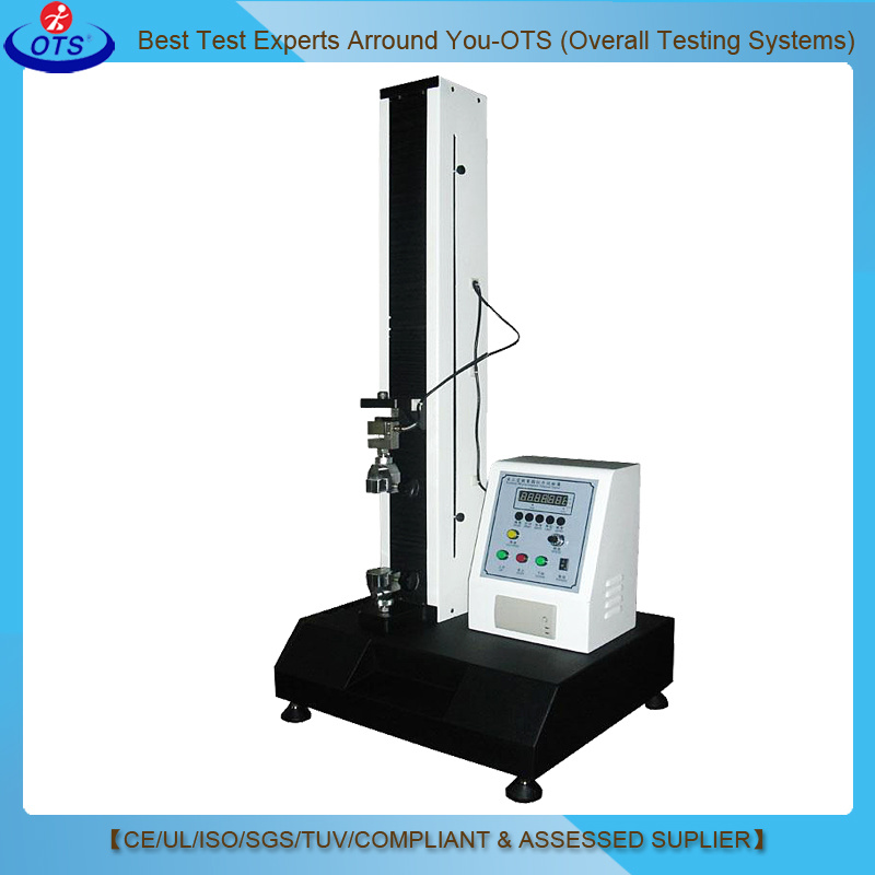 High Precision Single Column Electronic Tape Peel Material Tensile Strength Tester