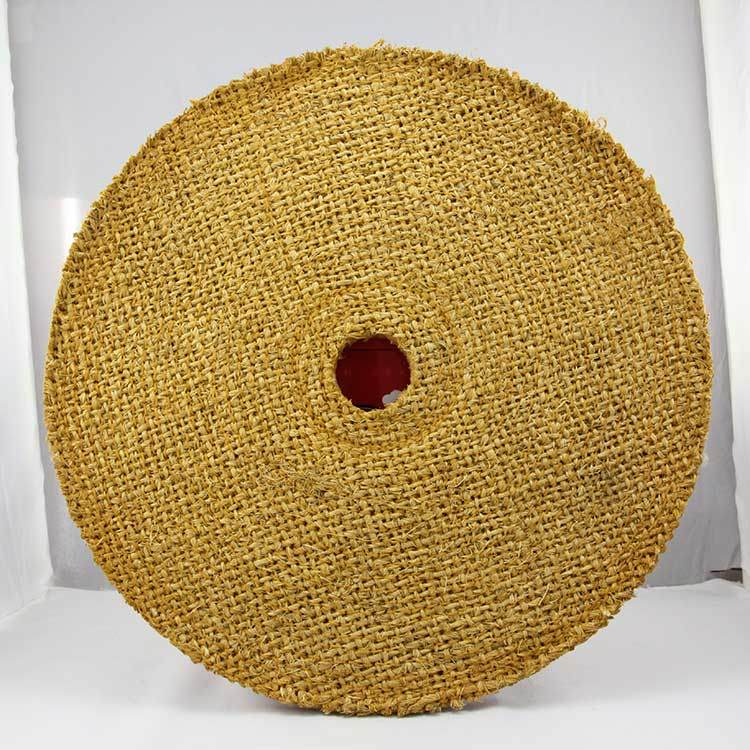 Sisal Buffing Wheel for Stainless Steel Pipe Polishing