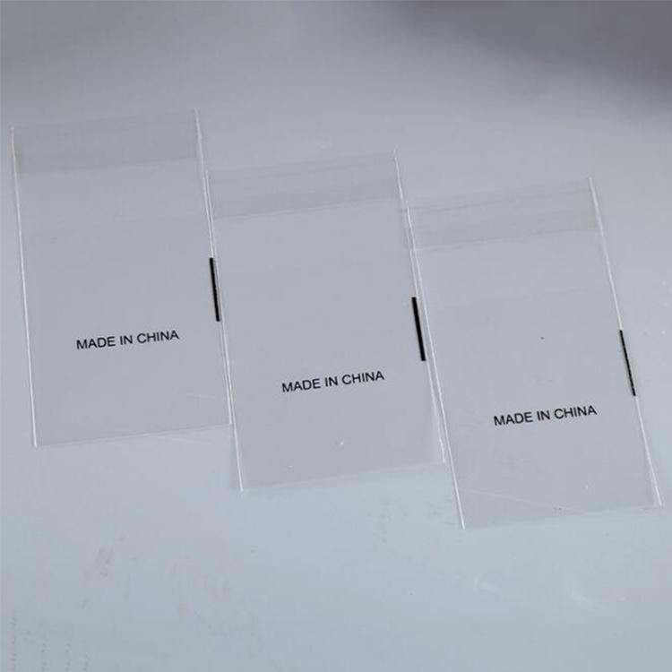 Customzied BOPP Transparent Self-Adhesive Plastic Food Packaging Bag