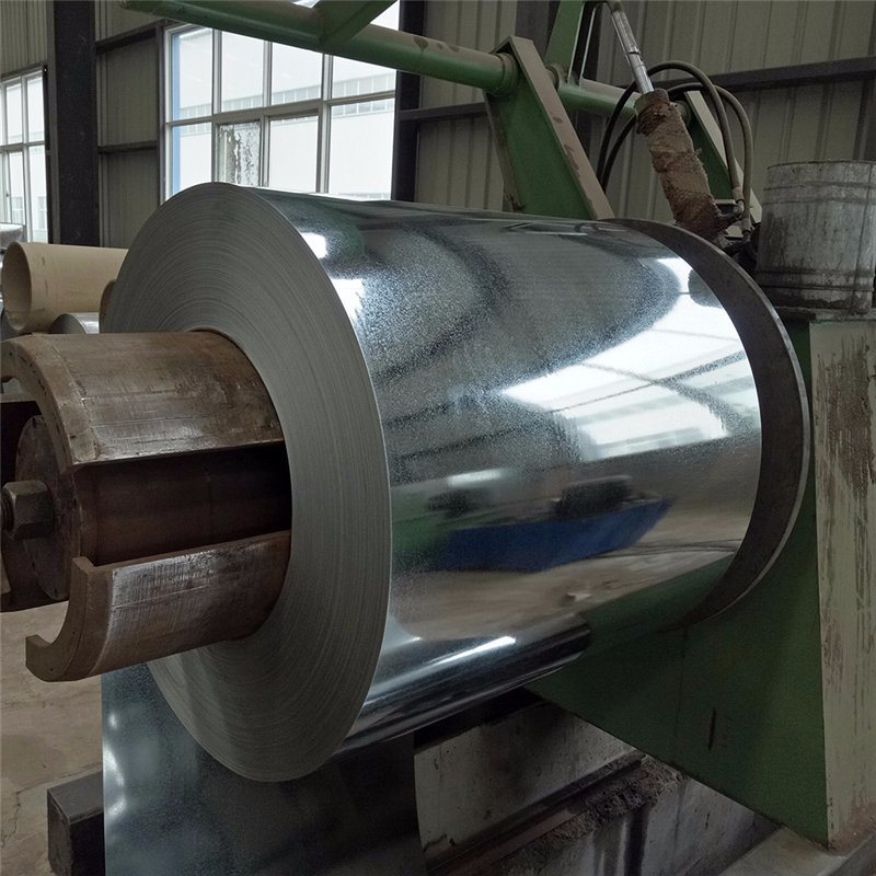 (0.125mm-6.0mm) Dx51d Roofing Sheet Metal Steel Material Galvanized Steel Coil