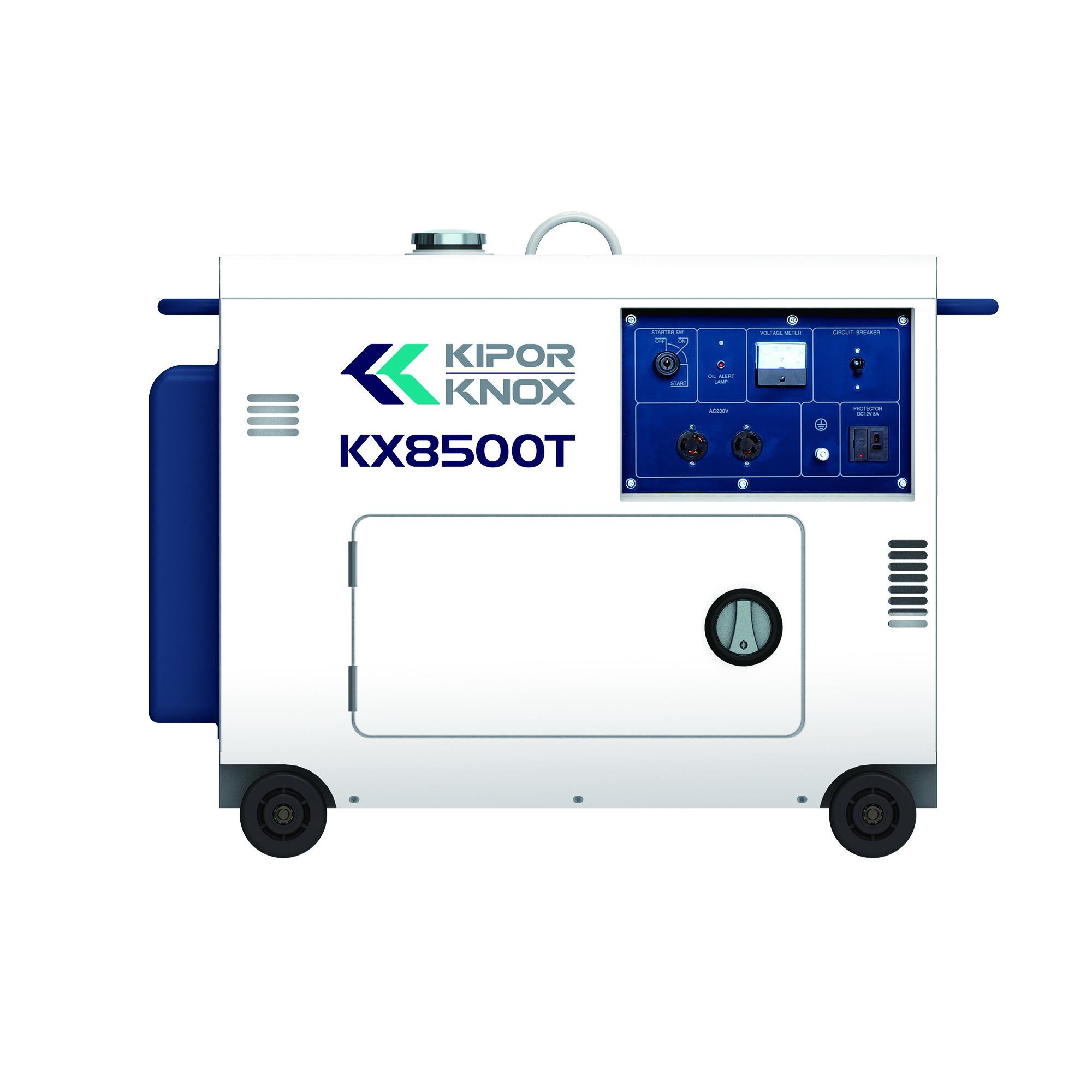 Kipor 6kw Diesel Portable Silent Generator Set Kx8500t with Kipor Engine