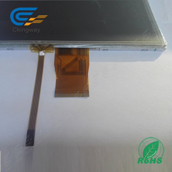 "7"" 50 Pin 320 CD/M2 LCD with Resistive Touchscreen"