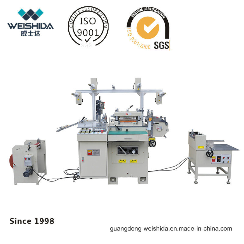 Wd220 Pinhole Positioning Automatic Die Cutting Machine
