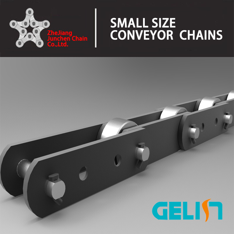 Chain Factory Stainless Steel Conveyor Chain with K2 Attachment Big Roller Conveyor Chain Roller Chain