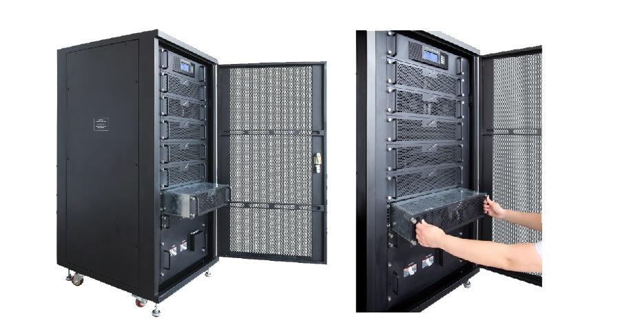 Sun-M Series Hf Online Modular UPS with Capacity 10-90kVA
