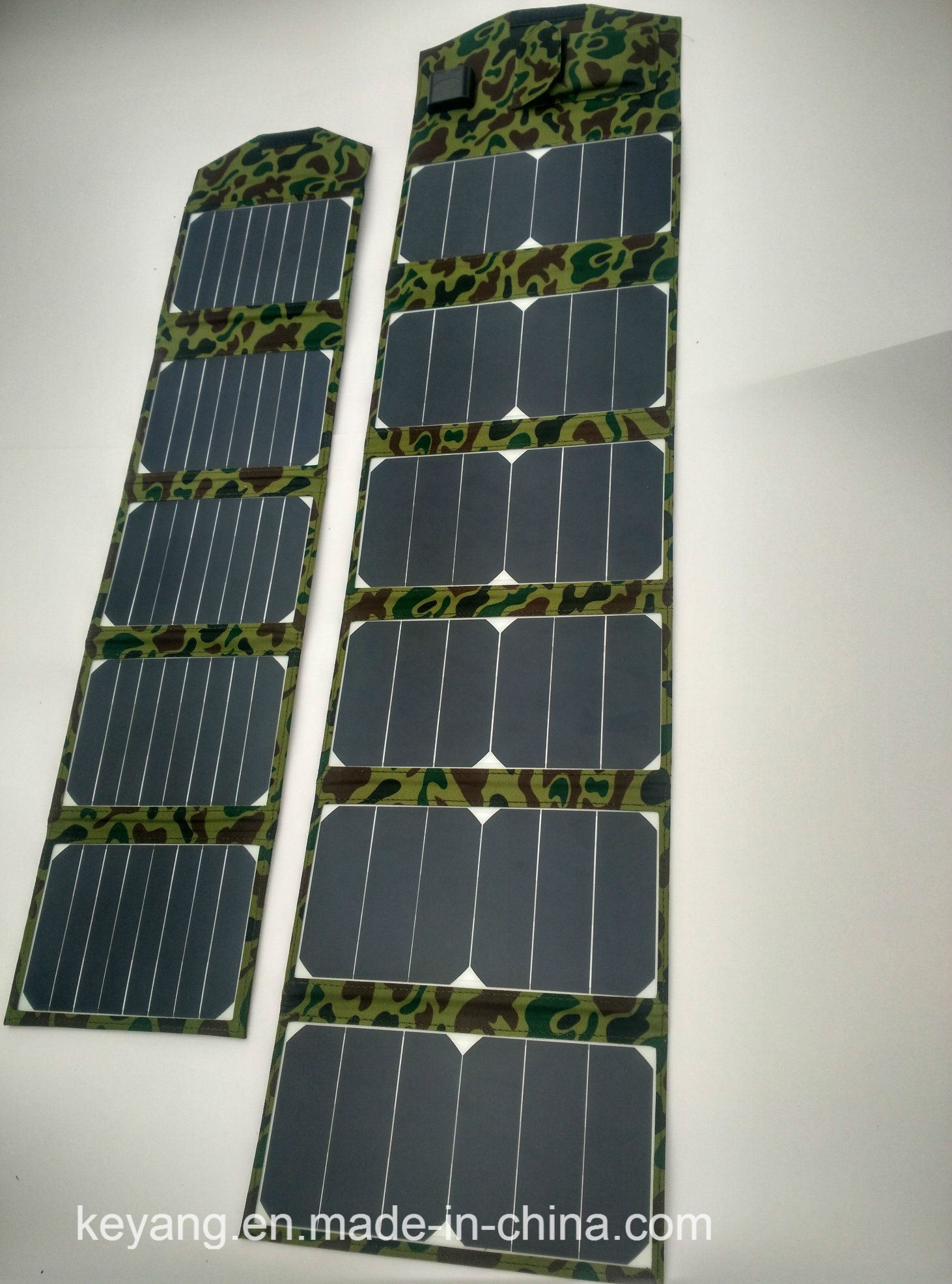 40W Porable Solar Power Charger with 2 USB Chargers