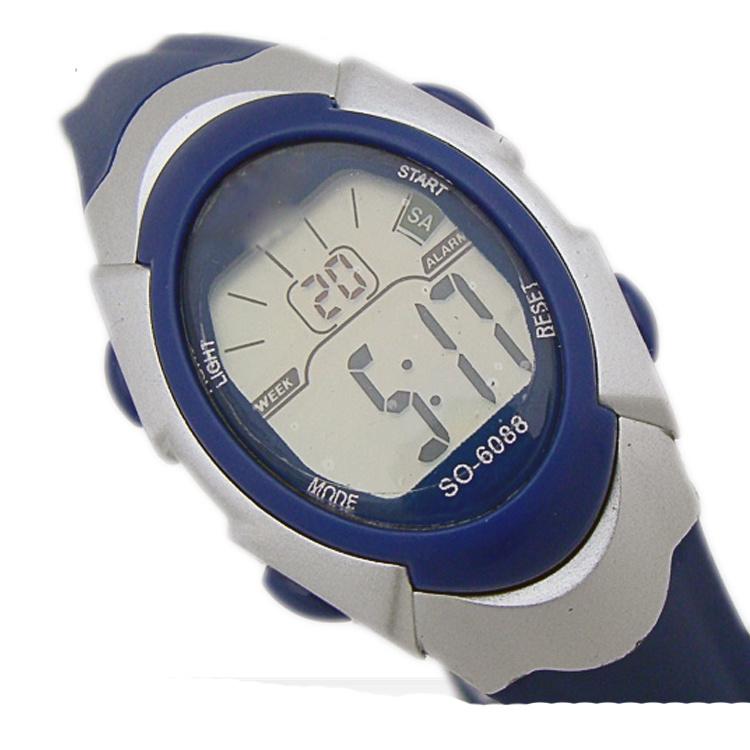 china popular plastic digital watches multifunction top