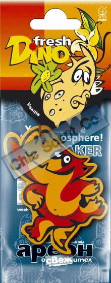 Paper Air Freshener Dino