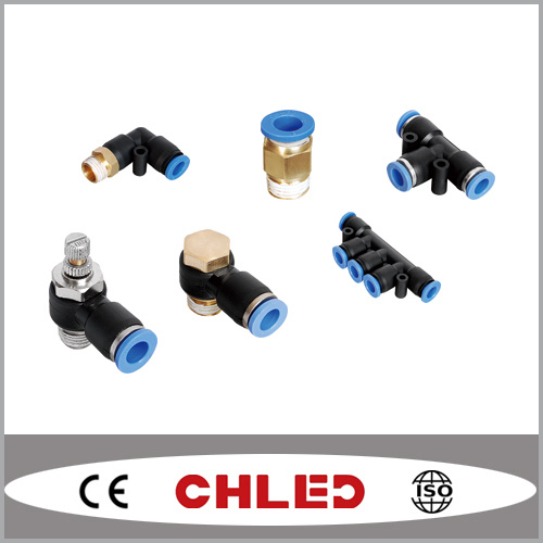 Pneumatic Fitting / Air Fitting / Push in Tube Fitting / One Touch Fitting