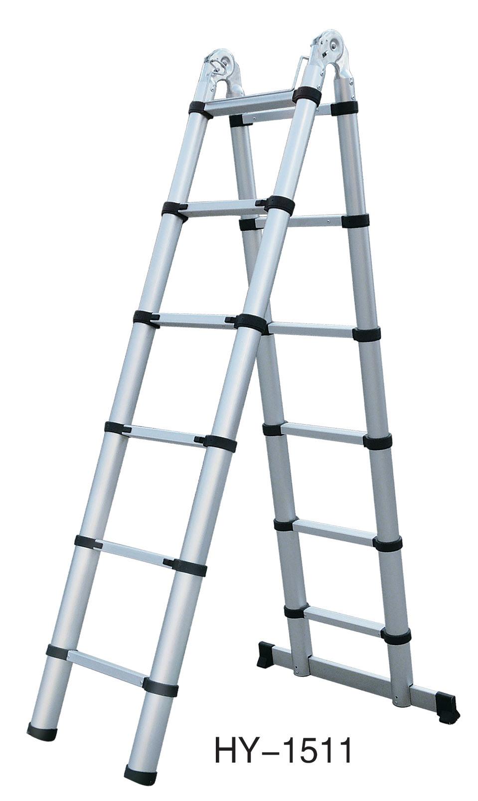 Folding Extension Ladder : China folding extension ladder hy aluminum