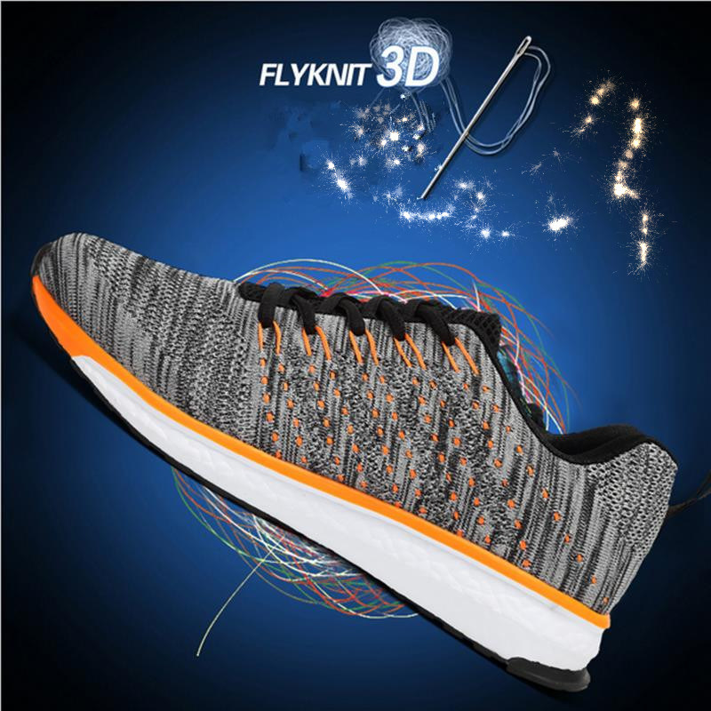 2017 New Flyknit Light Weight Running Shoes, Casual Shoes, Zapatos
