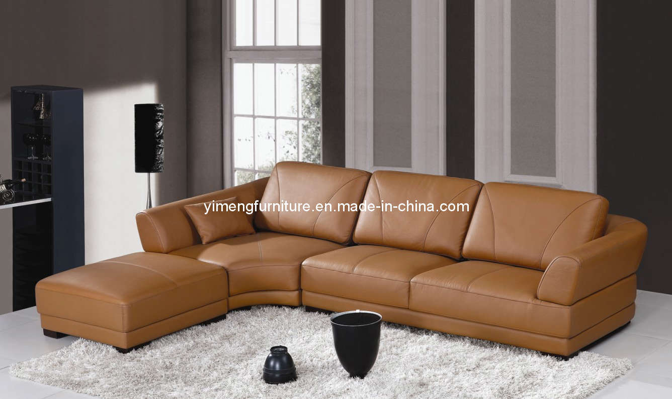 China Italy Leather Sofa 9809 China Leather Sofa Fabric Sofa