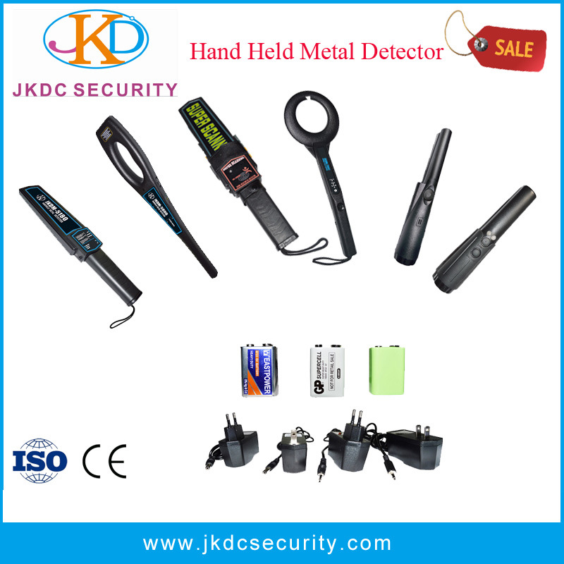 High Sensitivity Super Scanner Hand Held Metal Detector for Security Check