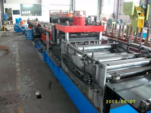 C/Z/U/Omiga Purlin Exchange Roll Forming Machine-BOSJ03
