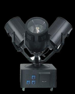 Three Head 1kw/2kw/3kw/4kw Sky Search Light for Outdoor