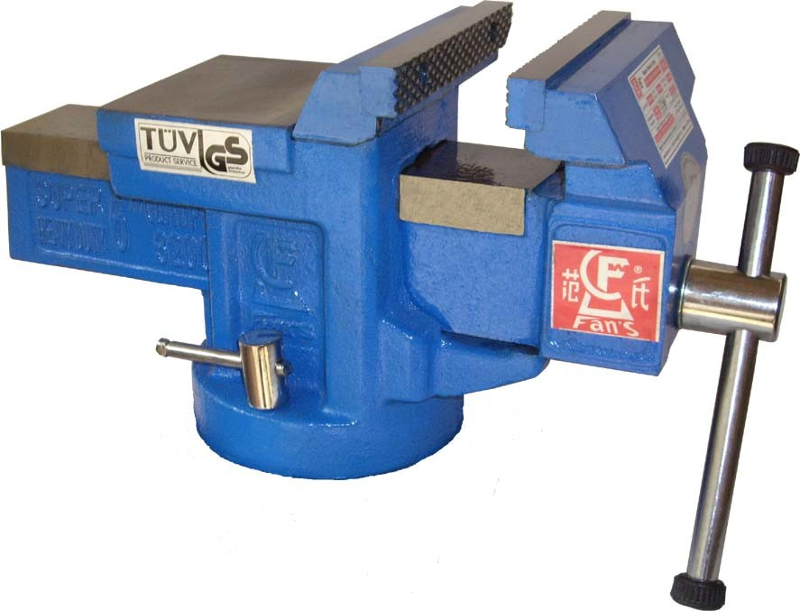 China Heavy Duty Cast Iron Fan S Quick Bench Vise Without Swivel Base China Vise Vice