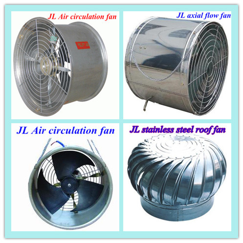 China exhaust fan cooling pad poultry fan supplier for Home air circulation