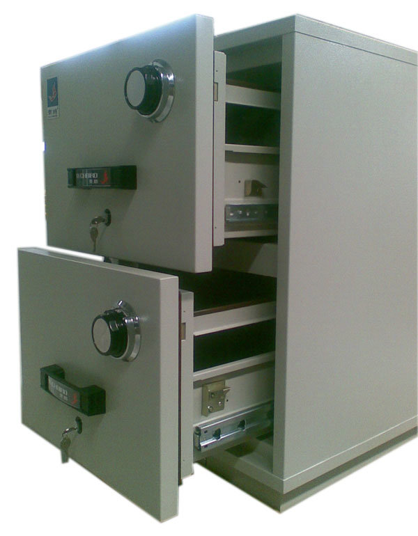 Fire Resistant Filling Cabinet (FRD750-20) , 2 Drawers Vertical Data Cabinet