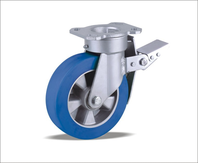 Swivel Caster With Polyurethane Wheel