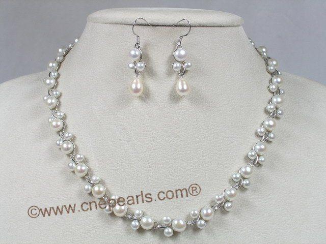 Sterling silver pearl earrings ebay