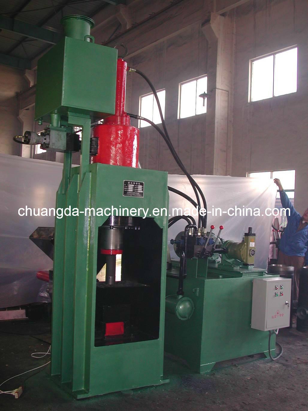 Hydraulic Metal Sawdust Briquetting Press (SBJ2000)