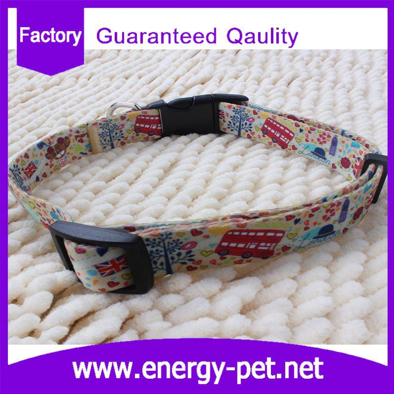 Unique Items Print Pattern Pet Product Dog Collar