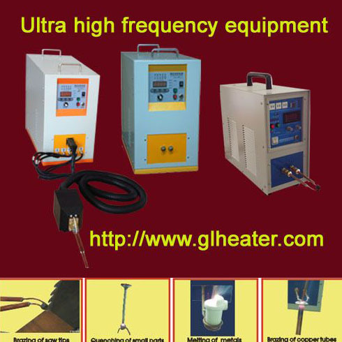 Induction Heating Machine for Heating Small Parts