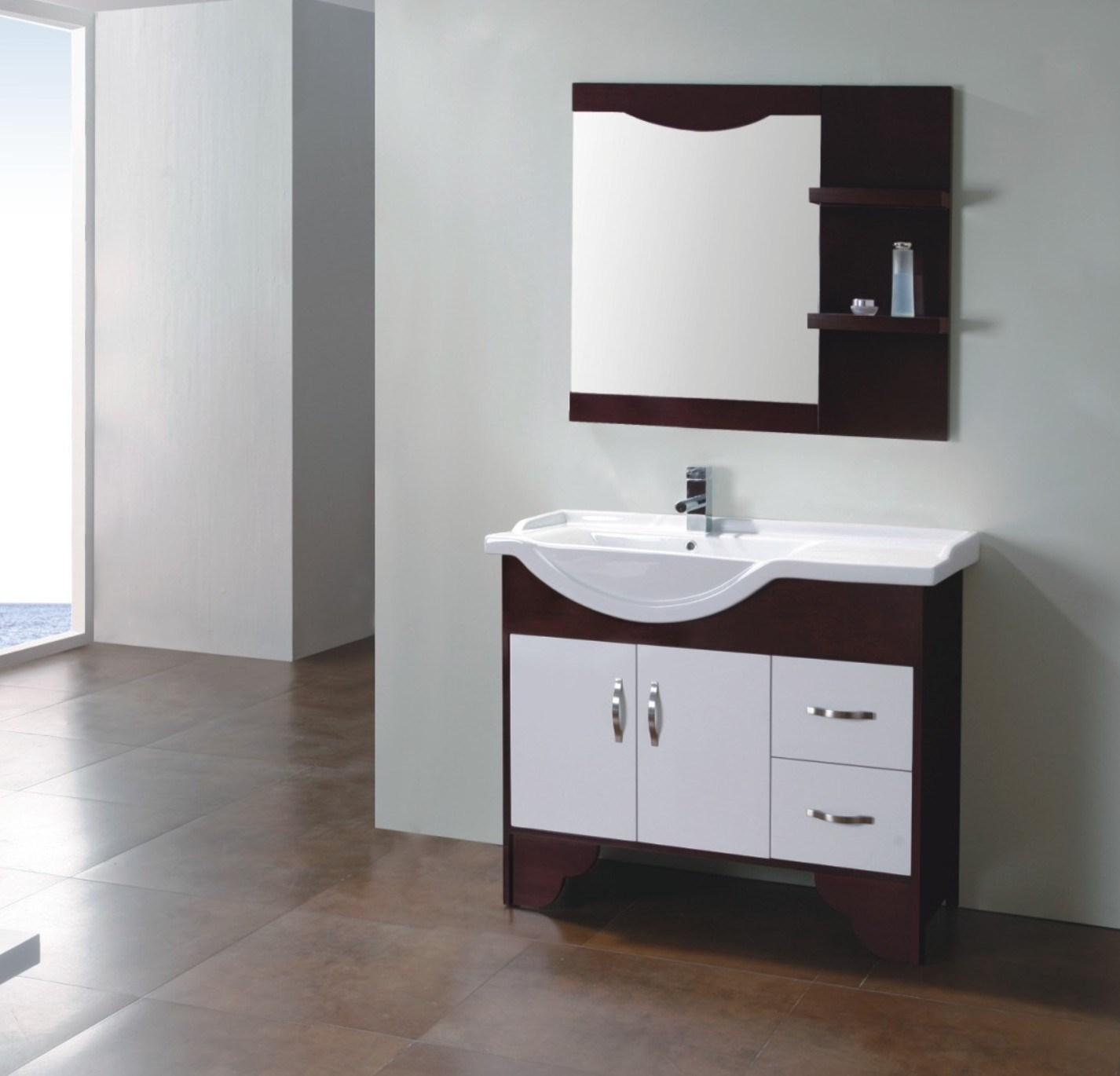 wood bathroom cabinet fm s8059 china solid wood bathroom cabinet