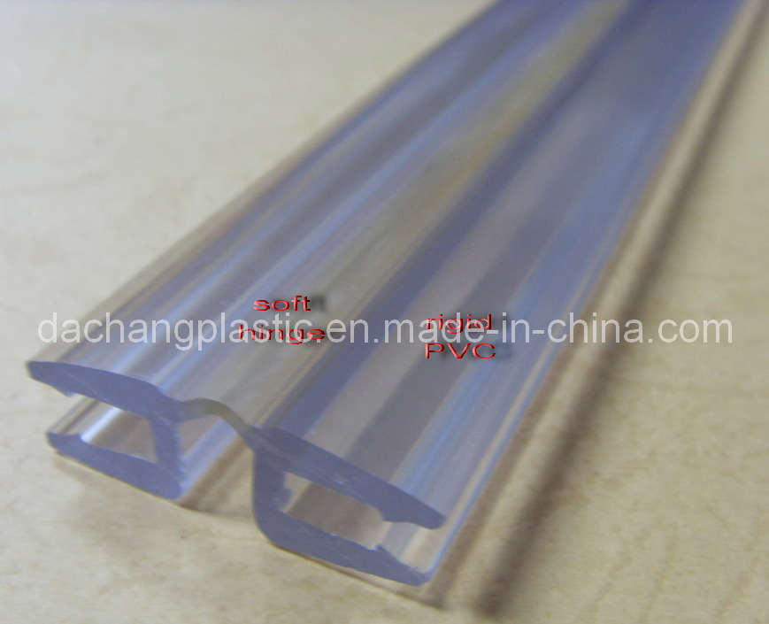 China Plastic Coextruded Hinge Pvc Coextrusion Hinge