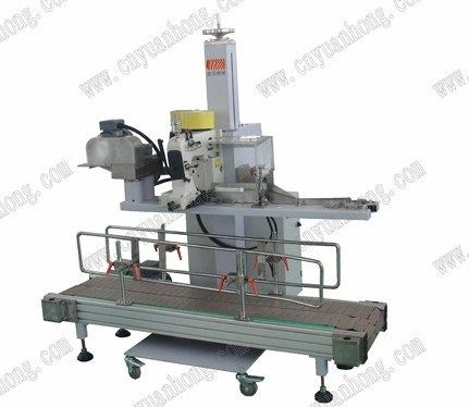 Automatic Bag Sewing Machine with Conveyor