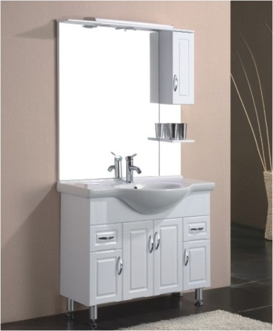 Free Standing High Gloss MDF Bathroom Cabinet BL D1000