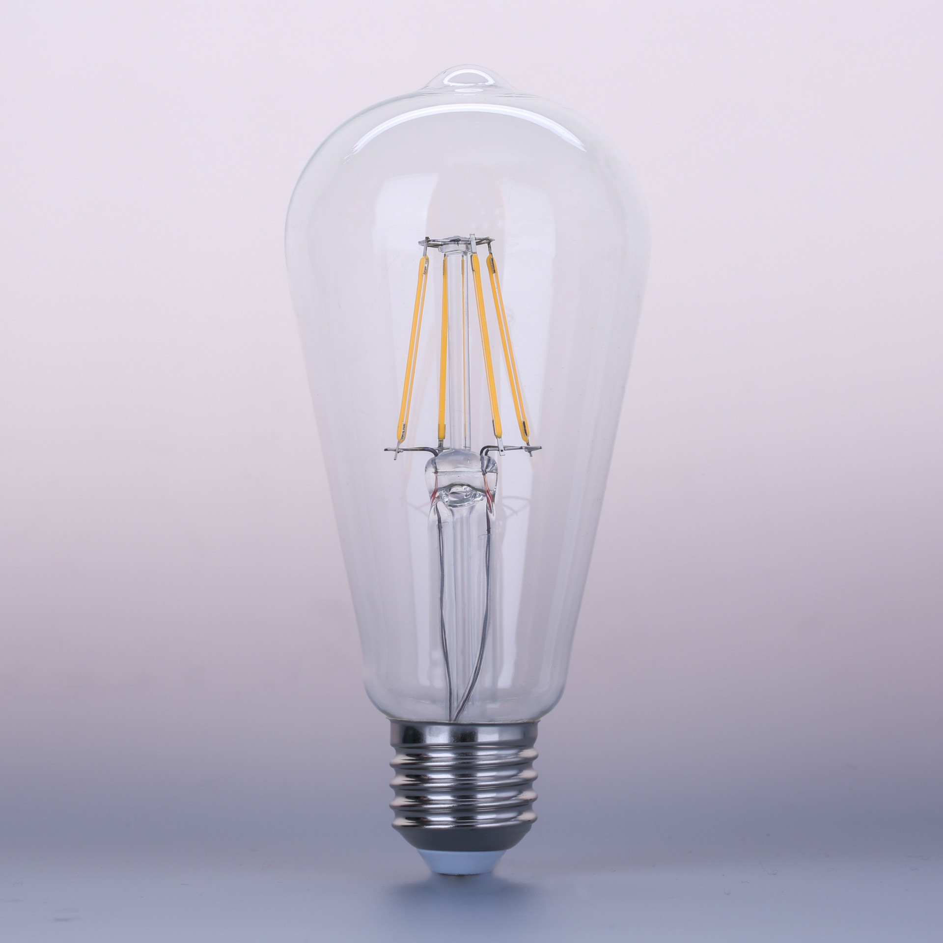 Energy Saving Light St64 E27 6W LED Filament Bulb