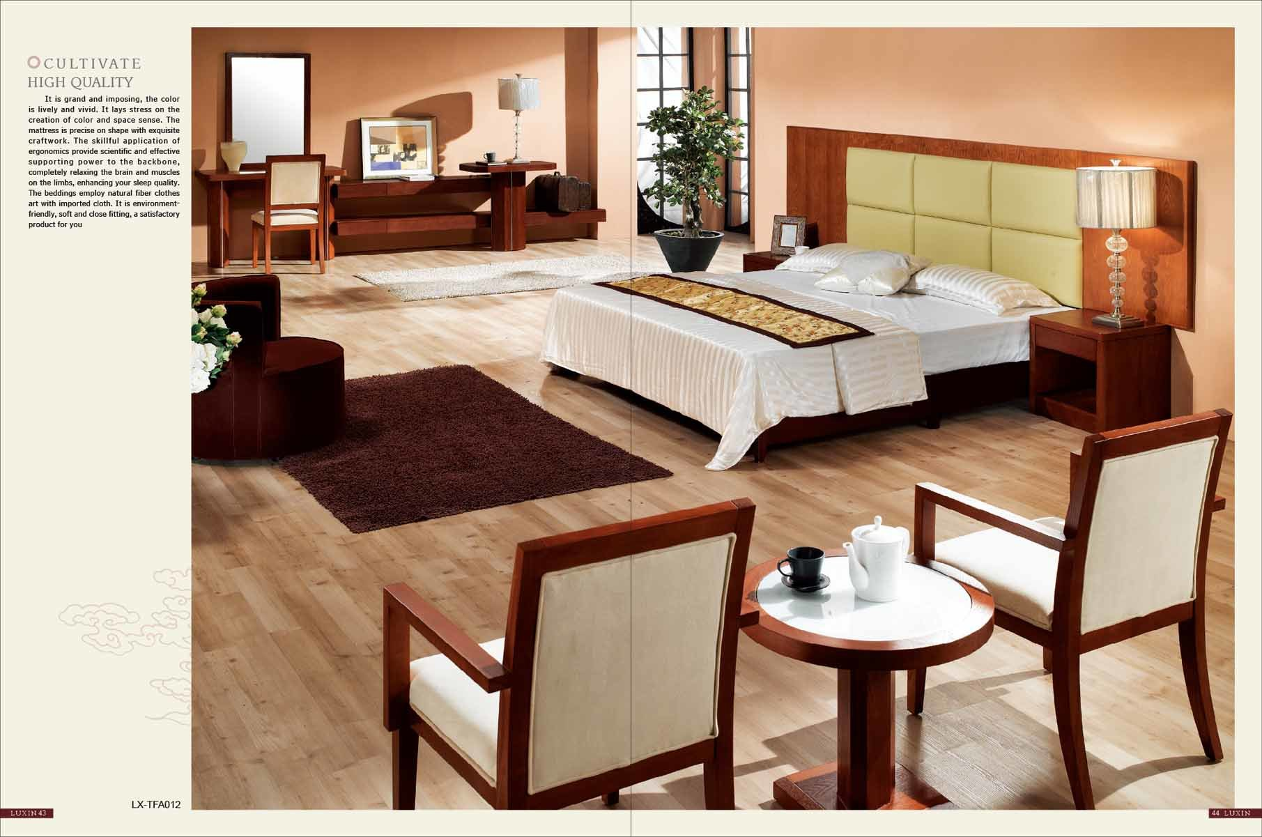 China Hotel Bedroom Suite Furniture Lx Tfa012 Photos