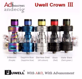 New Release! Uwell Crown 3 Subtank /Factory Direct Supply Uwell Crown III Tank