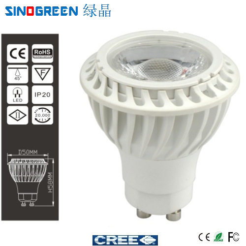 2014 New LED COB Spotlight (LJ-GU10S-COB5W)