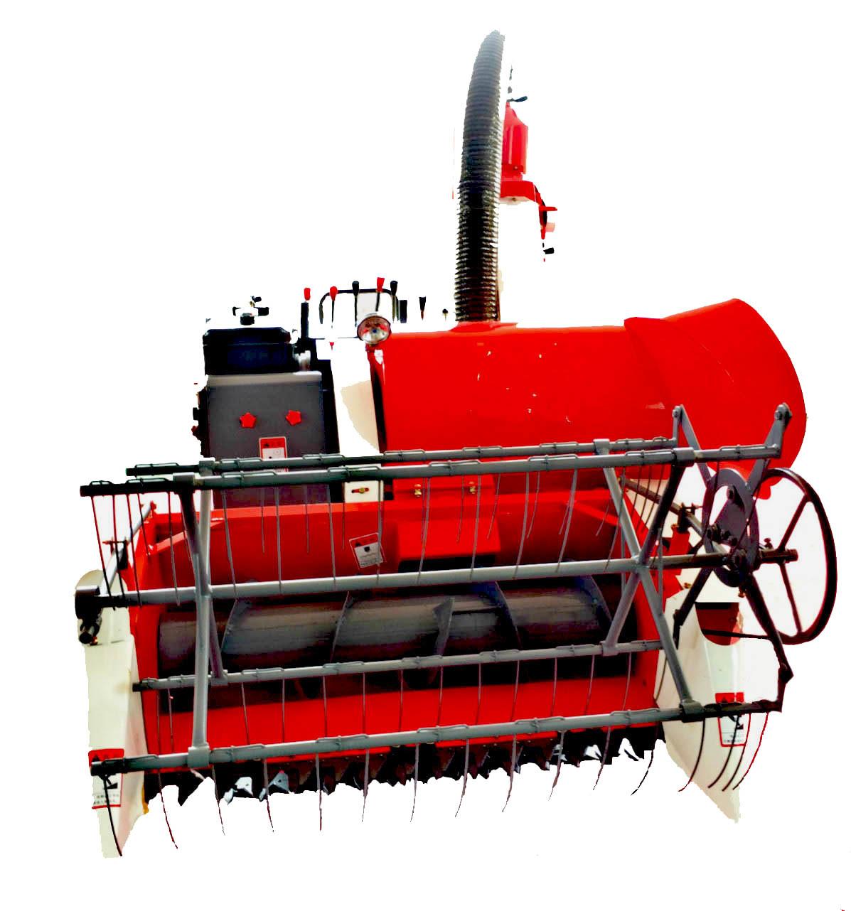 4lz-0.8 Mini Combine Harvester