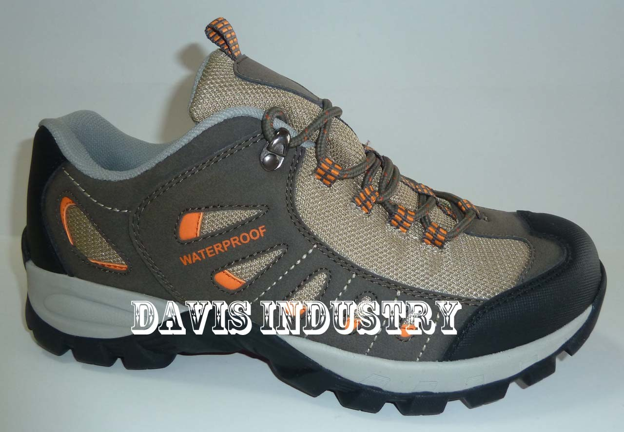 Factory Offered New Design Waterproof Trekking Shoes (DH-310)