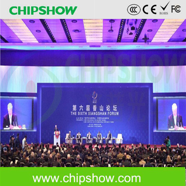 Chipshow P2.9 RGB Full Color Indoor LED Screen for Backaground