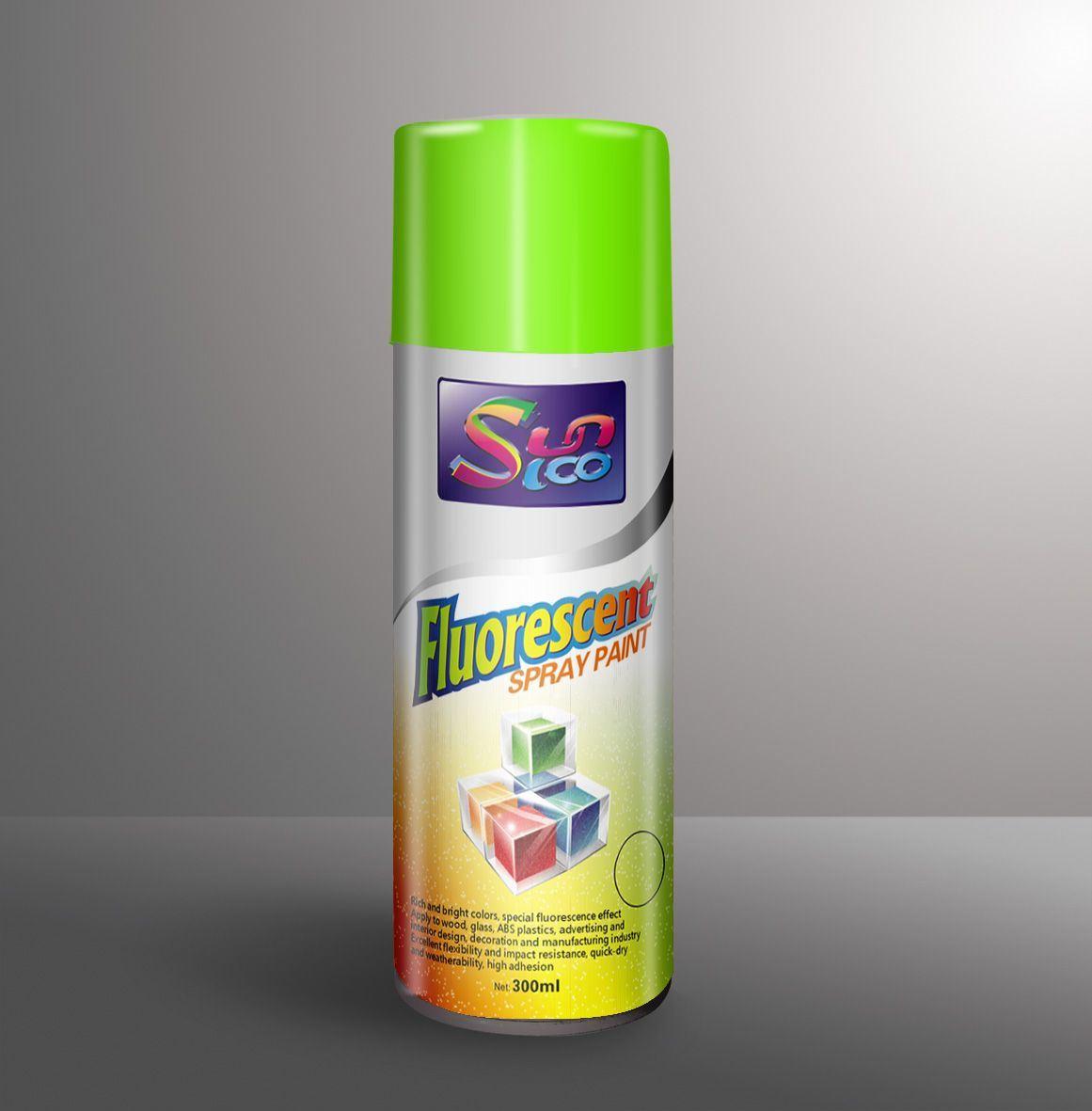 China Super Fluorescent Spray Paint China Super Fluorescent Spray Paint