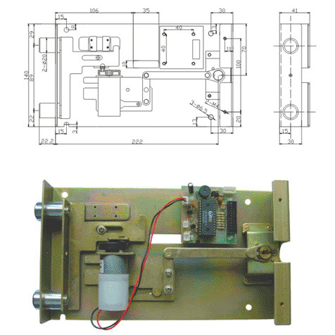 Fingerprint Safe Locks (SJZ8007)